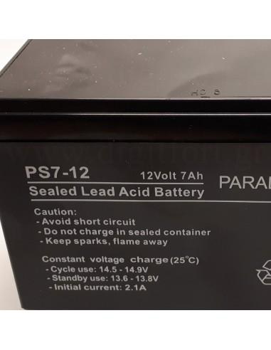 Μπαταρία συναγερμού Paradox Hellas 2.3 Ah / 12V